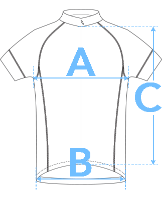 Wound Up Jersey Dimensions